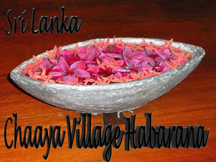 Sri Lanka Chaaya Village Habarana