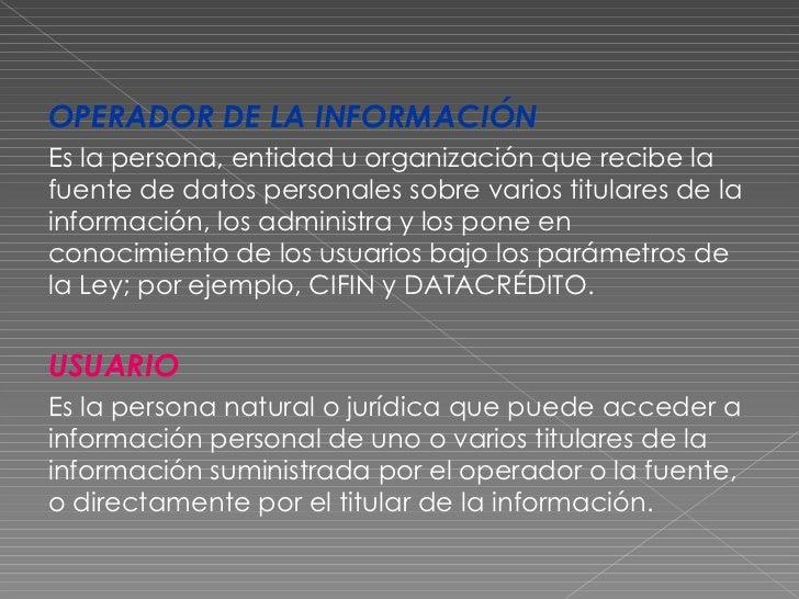 Que Significa Habeas Data En Espanol