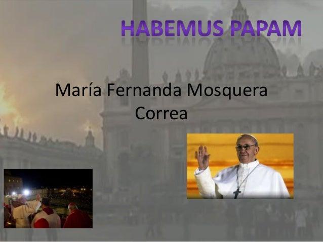 María Fernanda Mosquera         Correa
