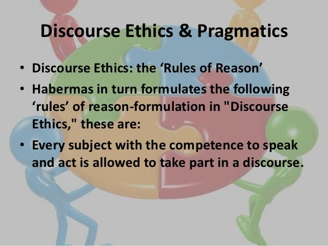 discourse ethics