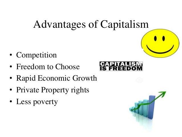 advantages of capitalist economy