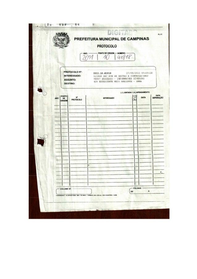 Número do Processo: 2011.10.41818Nome do Interessado: SEC MUN DE GESTAO E CONTROLE/SMGCNome do Requerente: ANDRE LAUBENSTE...