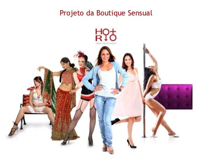 Projeto da Boutique Sensual