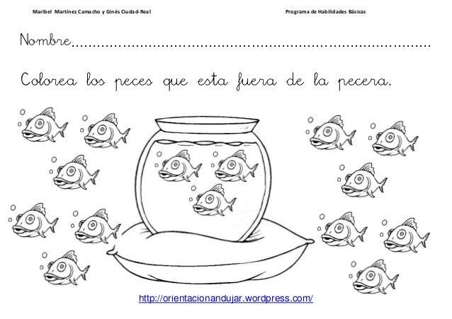 Excepcional Página Para Colorear Pecera Vacía Friso Ideas Para ...