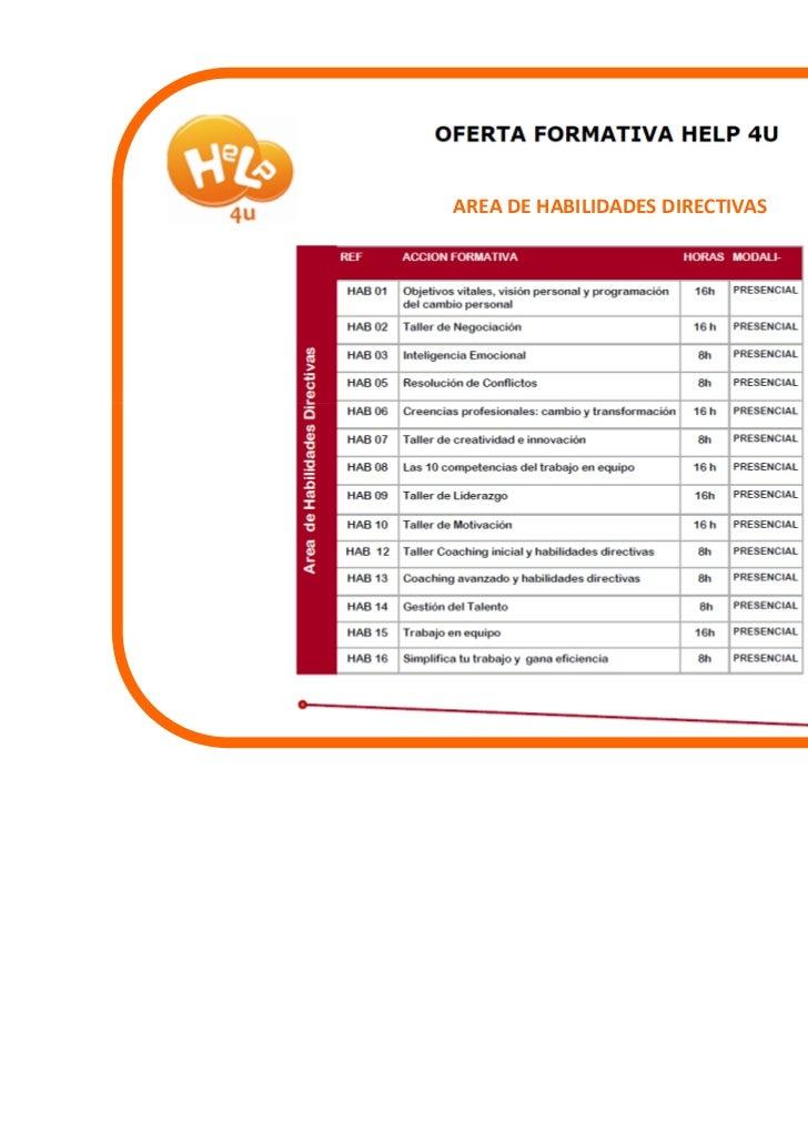 AREA DE HABILIDADES DIRECTIVAS
