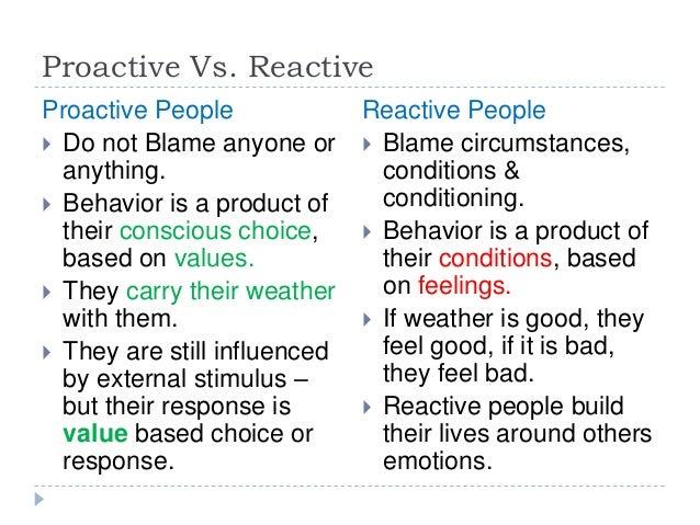 Proactive pr versus reactive pr marketing essay