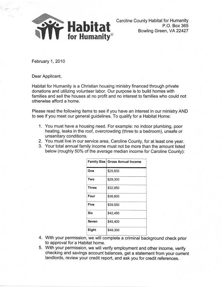 Habitat for Humanity - Caroline Virginia