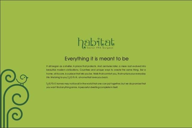 Conscient Habitat, Affordable Housing Sec 99 A, Gurgaon @ 08527846668 Slide 2