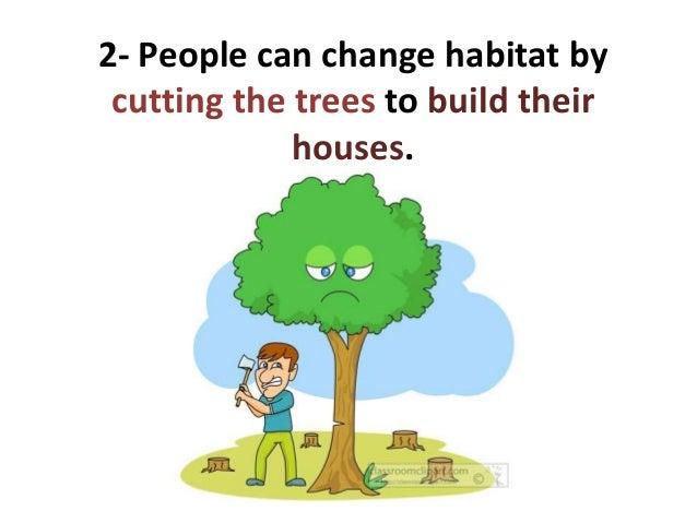 habitat changes by animals
