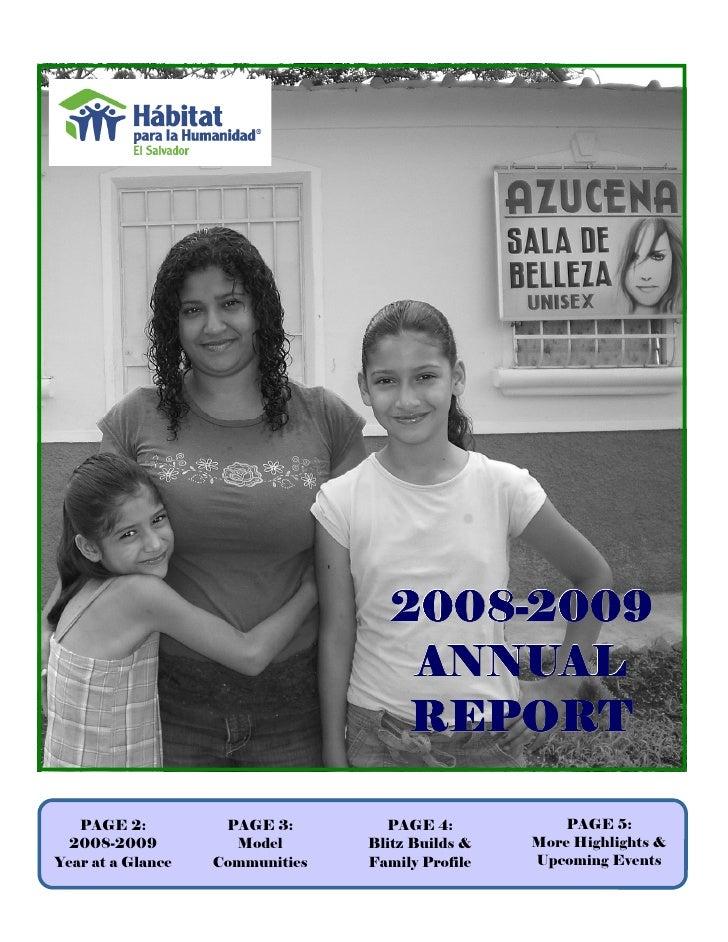 2008-2009                                     2008-                                      ANNUAL                           ...