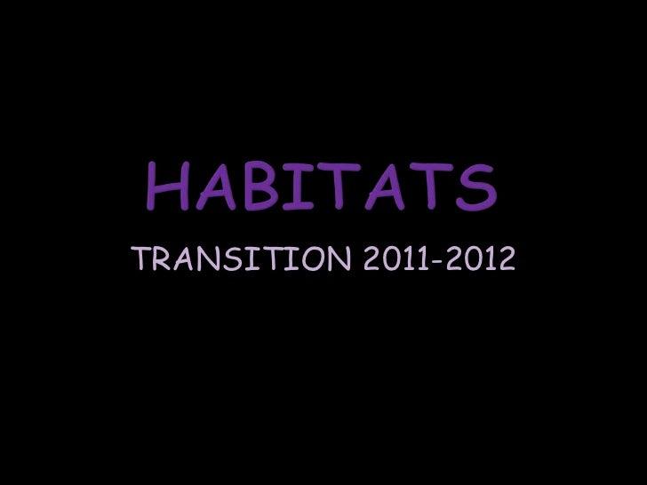 TRANSITION 2011-2012