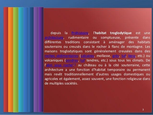 Habitat troglodytique larabi marwa for Conception architecturale definition