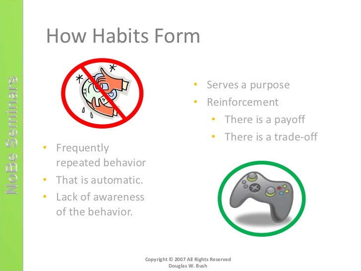 process analysis essay how to break a bad habit Plan for changing the bad habit using principles from at least three different learning theories  a bad habit they would like to break,  process essay.