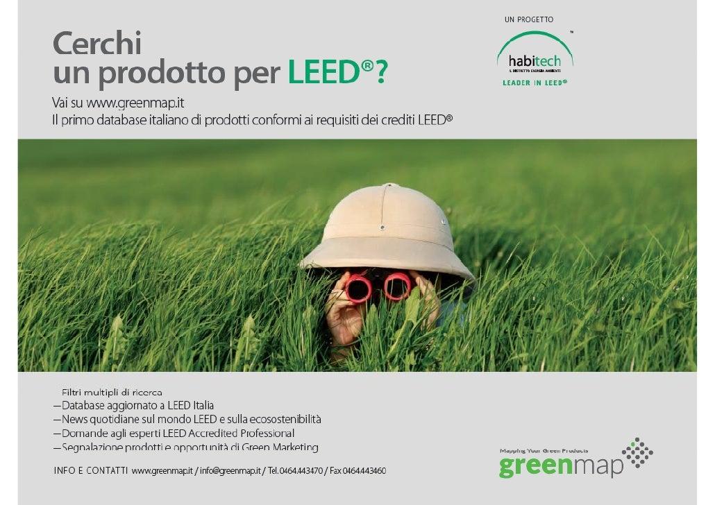 il primo database italiano di prodotti conformi ai            requisiti dei crediti LEED®                         SAIE    ...