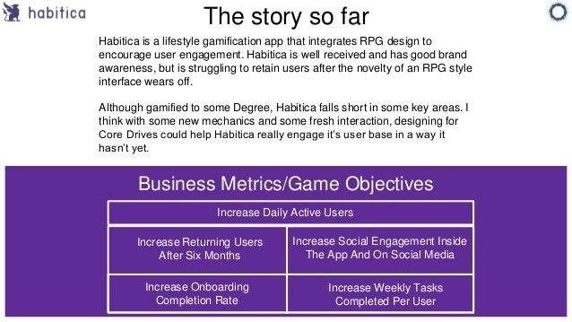 Habitica Design Challenge Finalist for Octalysis - Jacob Bender Slide 2