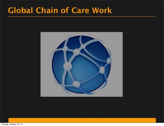 Global Chain of Care Work  Tuesday, October 15, 13