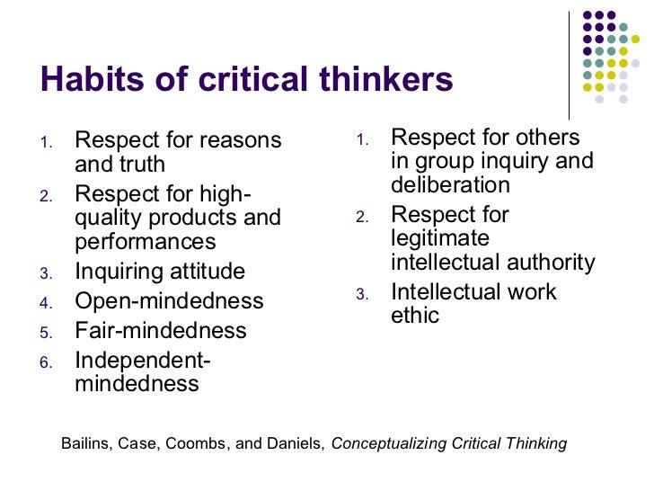 critical thinking lbcc