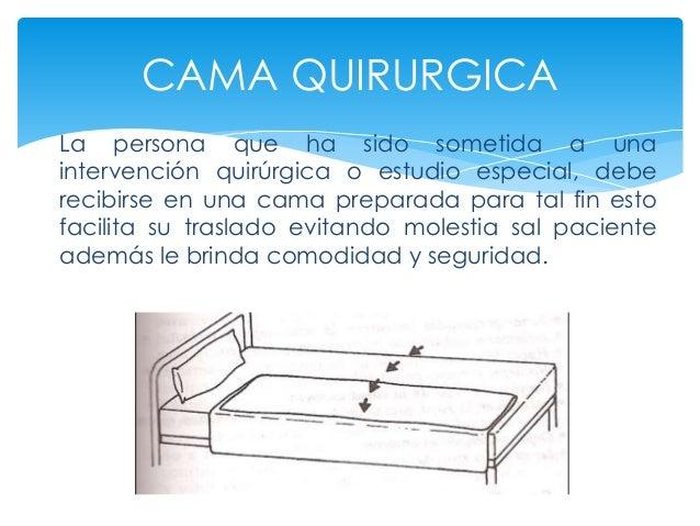 Habituales para mantener la salud 2 for Cama quirurgica