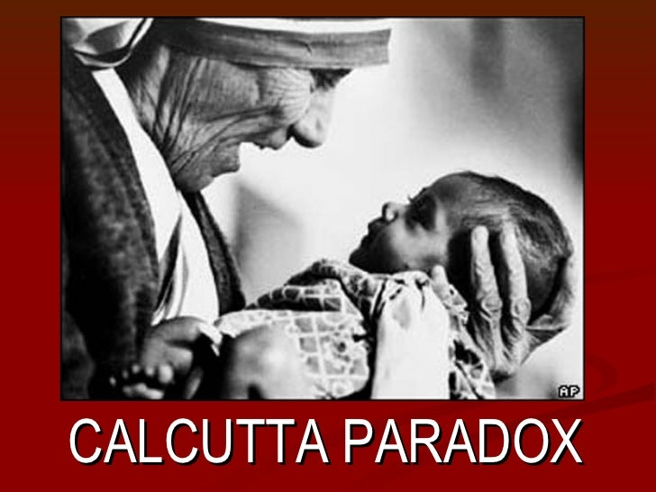 The Calcutta Paradox  Presented by: Todd Lee MayfieldCALCUTTA PARADOX