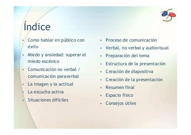 SEMINARIO: HABLAR EN PUBLICO (NO ES COSA DE ZOMBIS) Slide 2