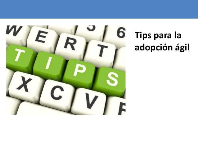 105 Tips para la adopción ágil