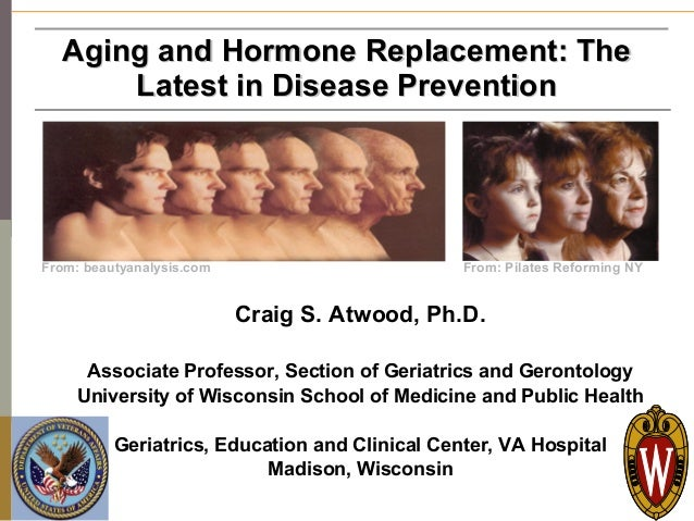 Aging and Hormone Replacement: The          Latest in Disease Prevention   From: beautyanalysis.com                       ...
