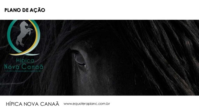 PLANO DE AÇÃO www.equoterapianc.com.brHÍPICA NOVA CANAÃ
