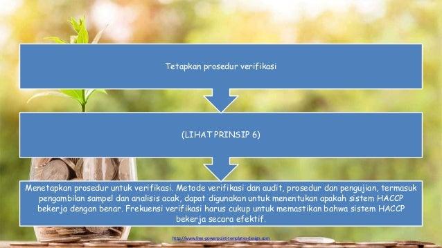 http://www.free-powerpoint-templates-design.com Menetapkan prosedur untuk verifikasi. Metode verifikasi dan audit, prosedu...