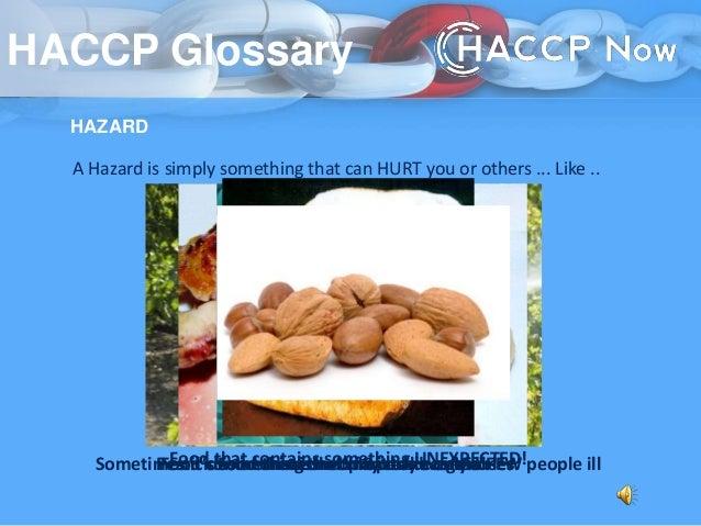haccp glossary - Procedure Haccp Cuisine