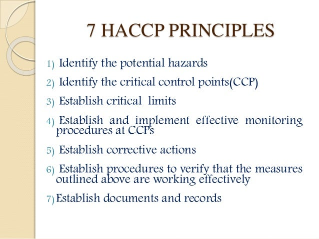 HACCP in the Meat Industry