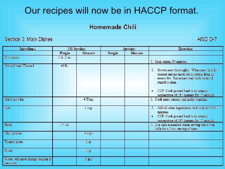 haccp power point