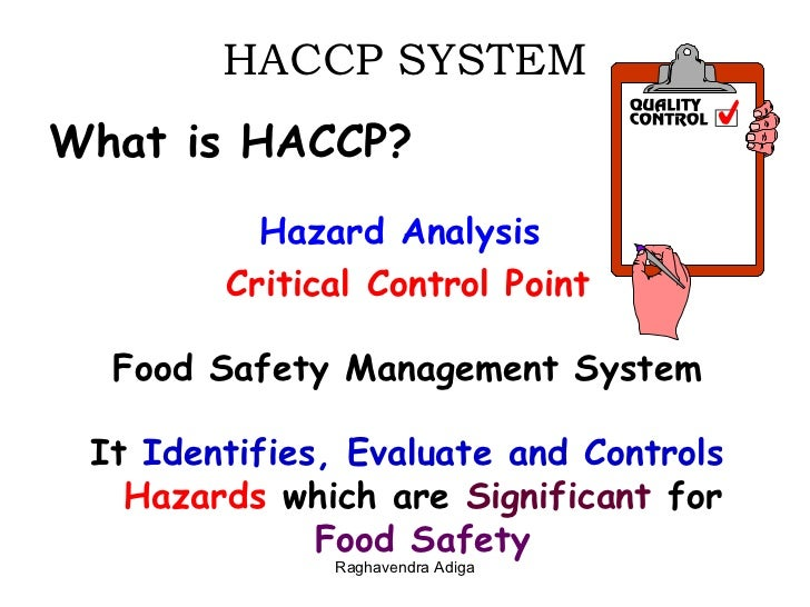 What does haccp mean in food - Haccp definition cuisine ...