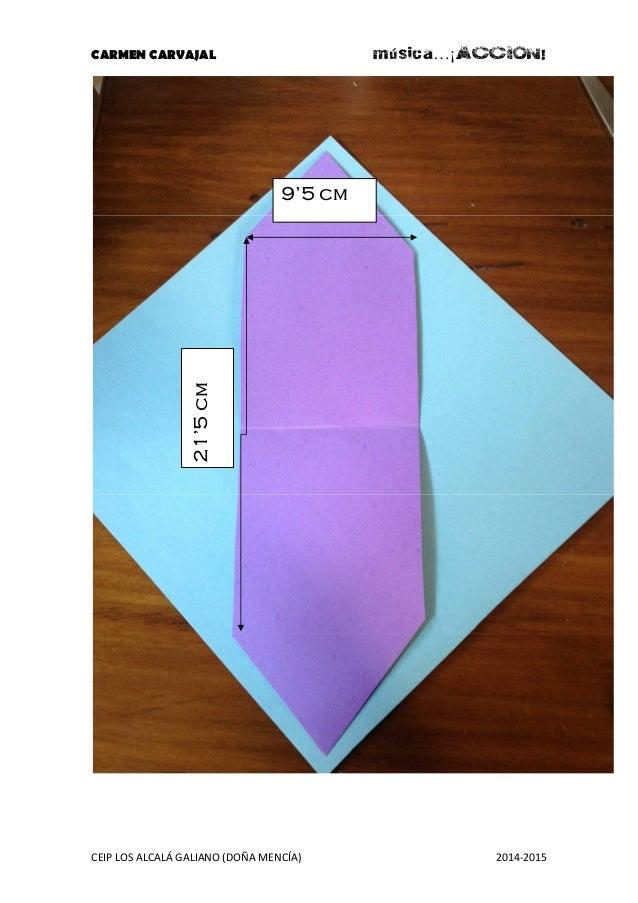 CARMEN CARVAJAL música…¡ACCION!  21'5 cm  9'5 cm  CEIP LOS ALCALÁ GALIANO (DOÑA MENCÍA) 2014-2015