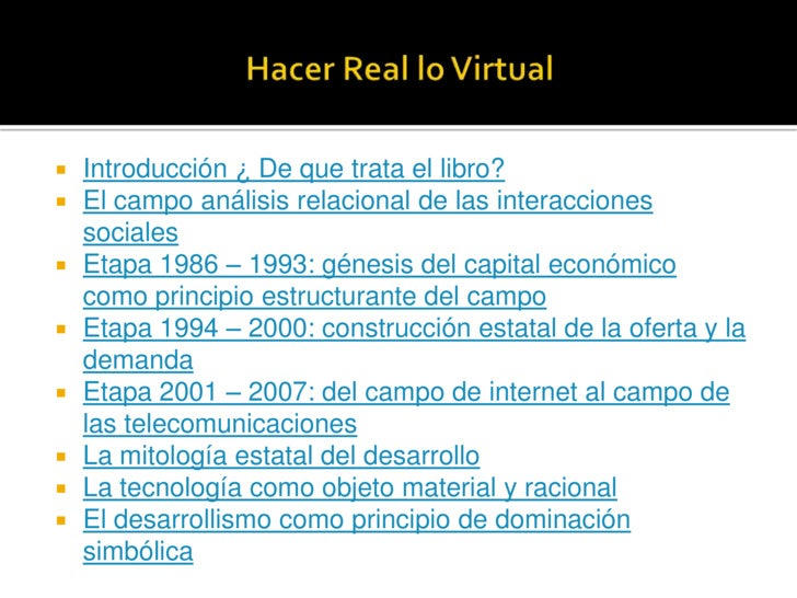  Introducción ¿ De que trata el libro?  El campo análisis relacional de las interacciones   sociales  Etapa 1986 – 1993...