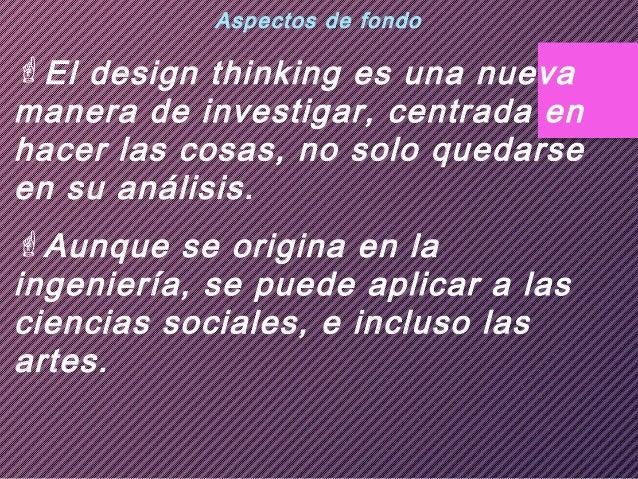 Hace tesis. Design thinking Slide 2