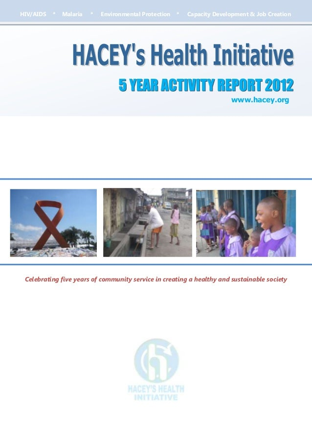 HIV/AIDS   *   Malaria   *   Environmental Protection   *   Capacity Development & Job Creation                           ...