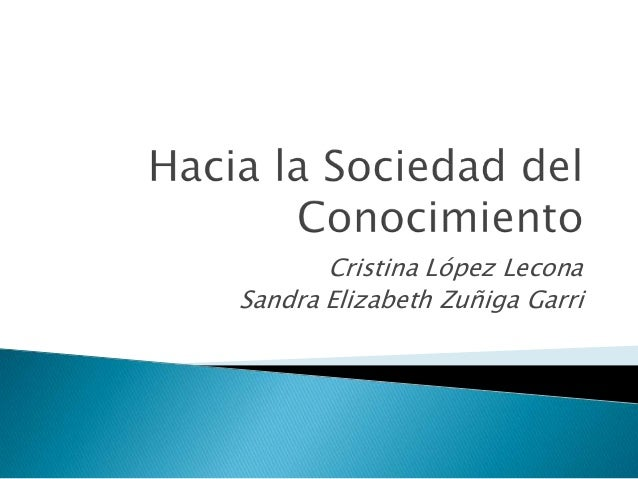Cristina López Lecona Sandra Elizabeth Zuñiga Garri