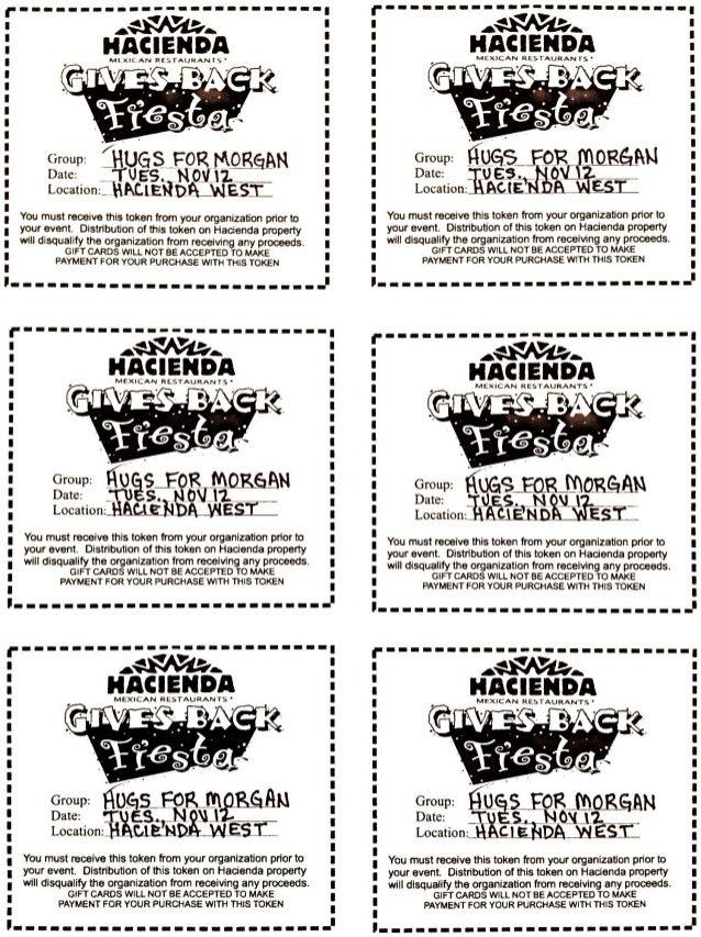 Hacienda hugs for morgan coupons