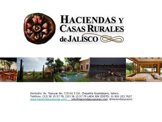 Domicilio: Av. Tepeyac No. 719 Int 3 Col. Chapalita Guadalajara, Jalisco.Teléfono: (33) 36 15 57 79, (33) 36 15 57 79 LADA...