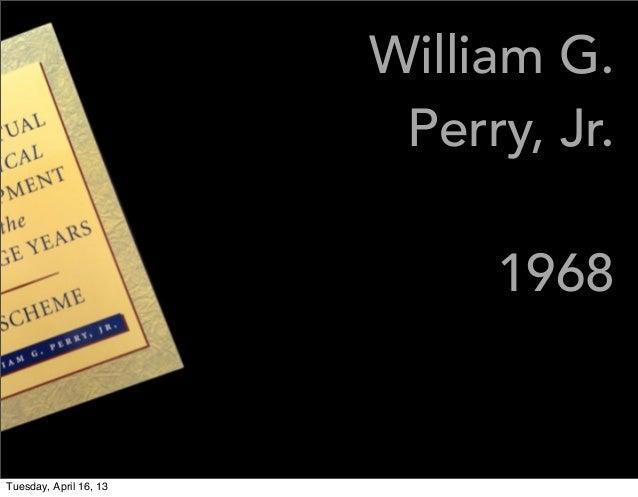william g perry jr