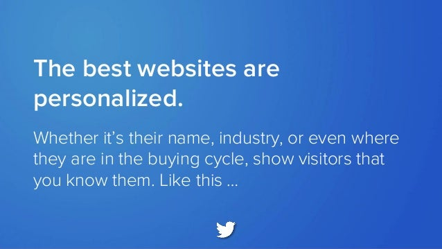 LEARN MORE: How To Use Dynamic Content For Better Conversions Download at: http://bit.ly/dynamic-ebook