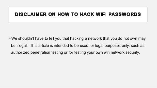 Hack wifi password using kali linux