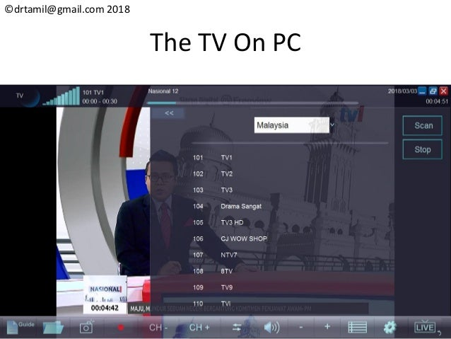 Hack#26 Playing DVB-T2 TV On Your PC
