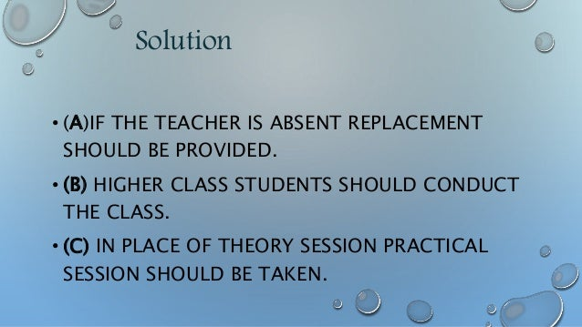 SOLUTION • JOINING PROCESS WILL FASTER IF WE WORK ON THIS PROCESS. • EXAMS SHOULD BE CONDUCTED ONLINE, SO IT WILL SAVE OUR...