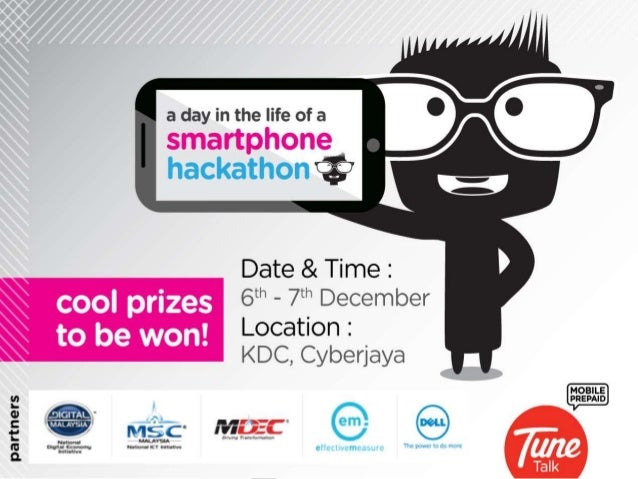 """1  MOBILE DATA VISUALIZATION  HACKATHON: """"A DAY IN THE LIFE  OF A SMARTPHONE"""""""