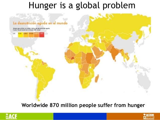 1112 words essay on Global Hunger Problem
