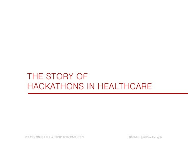The Rise of the Health Hackathon: 6 Insights from Hackathons Around the World Slide 3