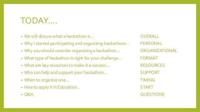 Hackathons in society #cpbr10 Slide 3
