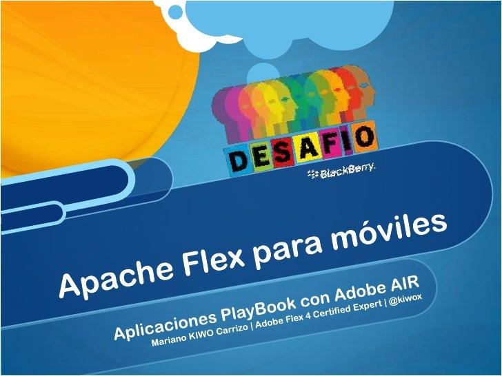 Mariano Carrizo                           Creador de BlueBox for BlackBerry                           PlayBook            ...