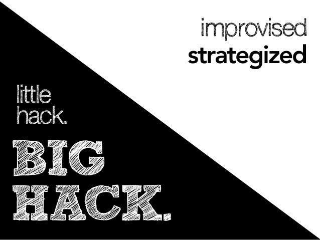 improvised         strategizedlittlehack.BIGHACK.